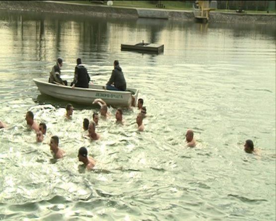 Bogojavljensko plivanje za časni krst
