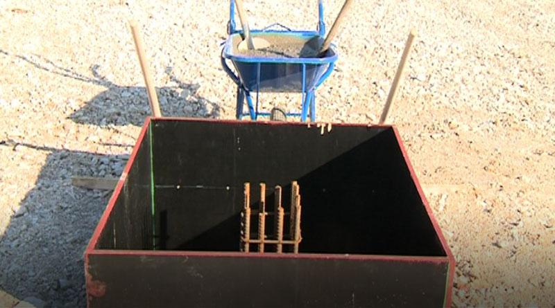 Kamen temeljac za trafostanicu u Aranđelovcu