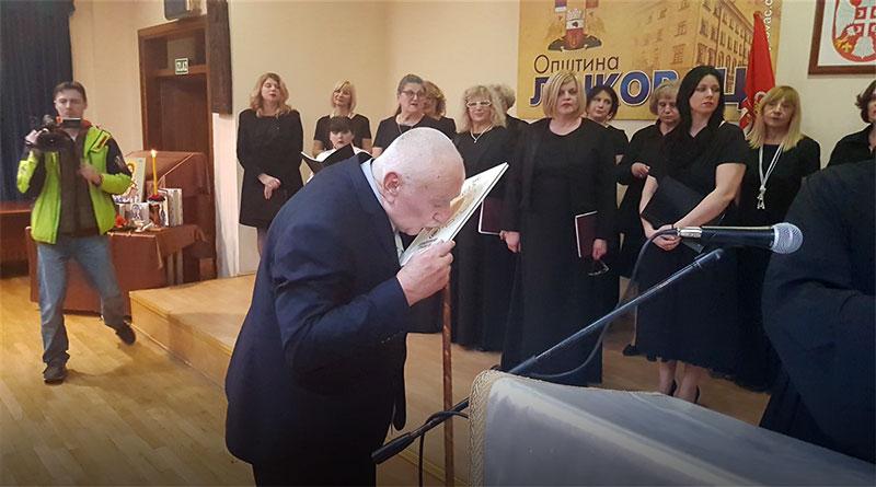 Orden Svetog vladike Nikolaja za Radovana Belog Markovića