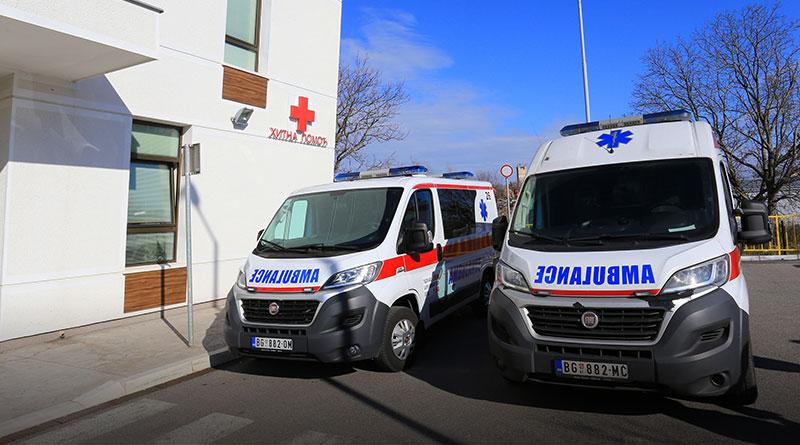 Novo sanitetsko vozilo u Surčinu