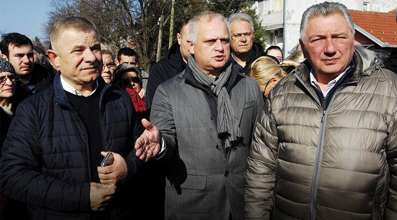Goran Vesić u obilasku radova u Rakovici