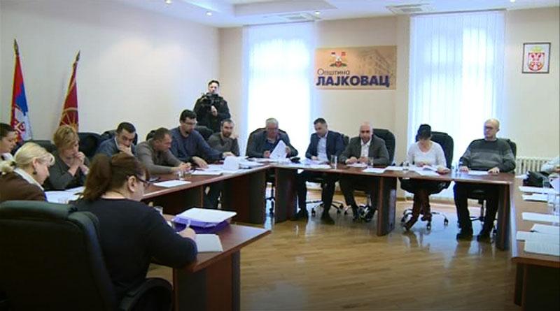 53. sednica opštinskog veća opštine Lajkovac