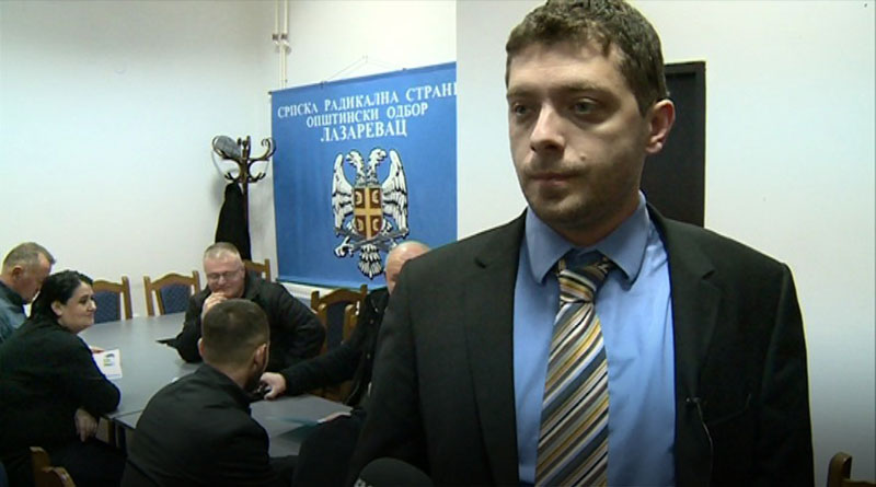 Kandidat za gradonačelnika Miljan Damjanović posetio Lazarevac