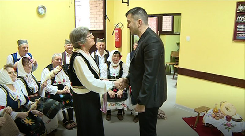 Poseta ministra Zorana Đorđevića lazarevačkom Gerontološkom klubu