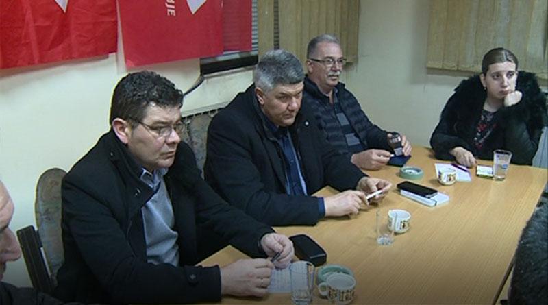 Okružni odbor SPS-a – Sastanak povodom beogradskih izbora