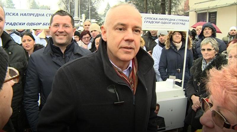 Kandidat za gradonačelnika Zoran Radojičić u poseti Lazarevcu
