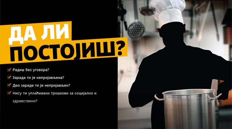 """Besplatna telefonska linija zа prijаvu rаdа """"nа crno"""""""