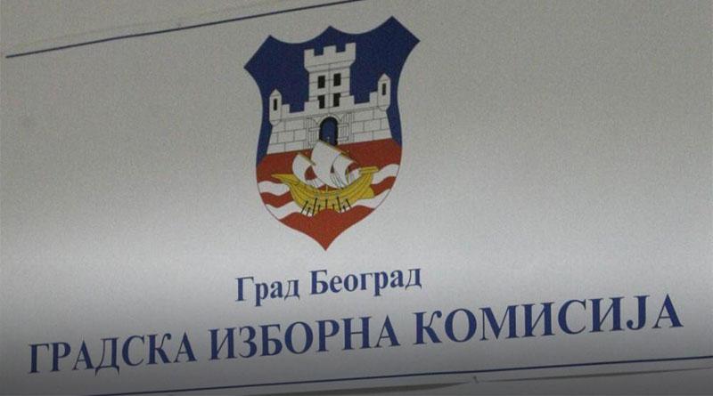 Gradska izborna komisija objavila zvanične rezultate izbora