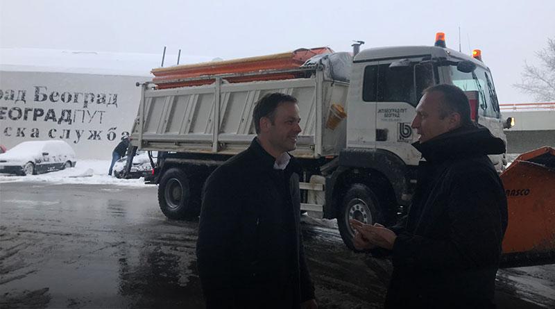 U Beogradu sve ulice prvog prioriteta prohodne