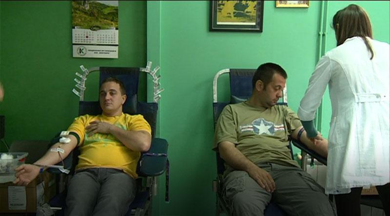 Akcija dobrovoljnog davalaštva krvi Ujedinjenih za Lazarevac