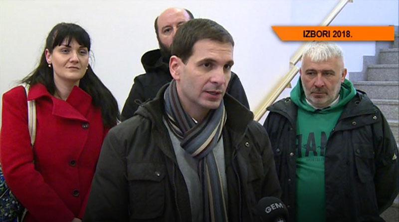 Predsednik Demokratske stranke Srbije Miloš Jovanović posetio Lazarevac