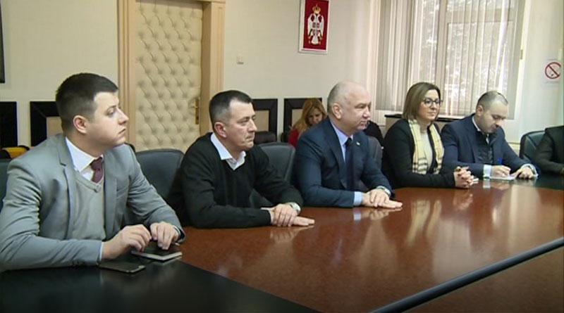 Poseta ministra Nenada Popovića