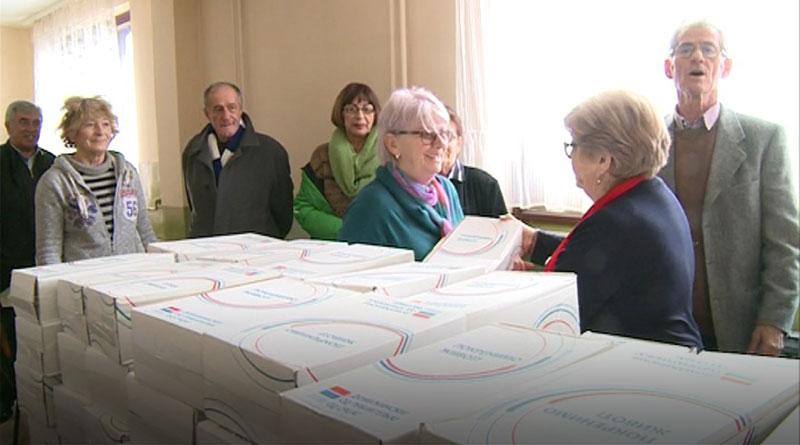 Pomoć paketi lazarevačkim penzionerima