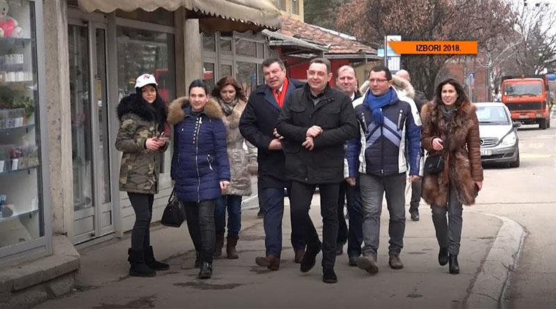 Poseta Aleksandra Vulina lazarevačkom odboru