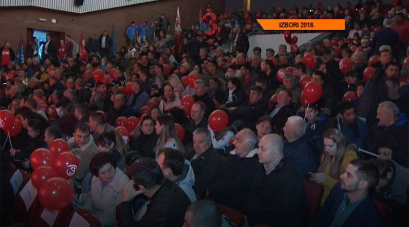 Centralna konvencija liste SPS-JS u Lazarevcu