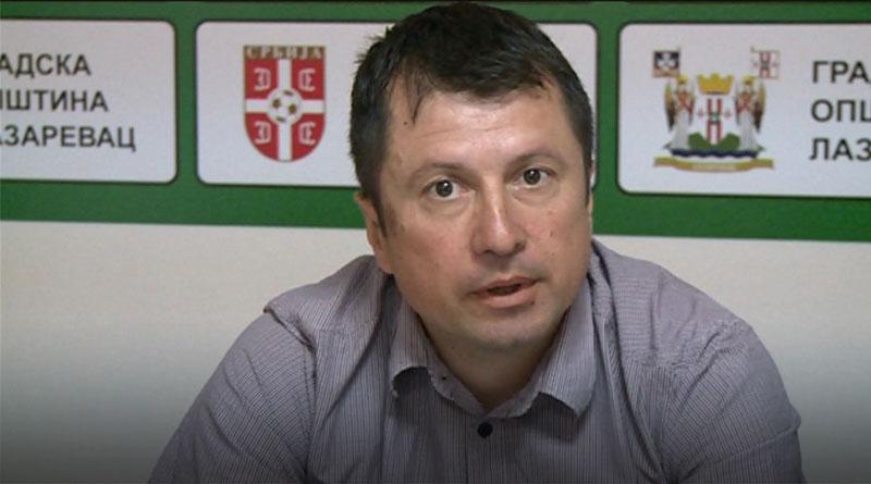 Žikica-Stojanović,-predsednik-FK-Radnički-Rudovci