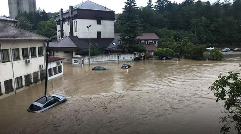 Opština Barajevo poplavljena