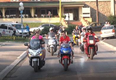 Trening bezbedne vožnje za motocikliste
