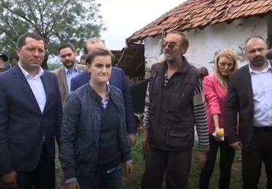 Premijerka Srbije Anu Brnabić i Bojan Stević posetili Topolu