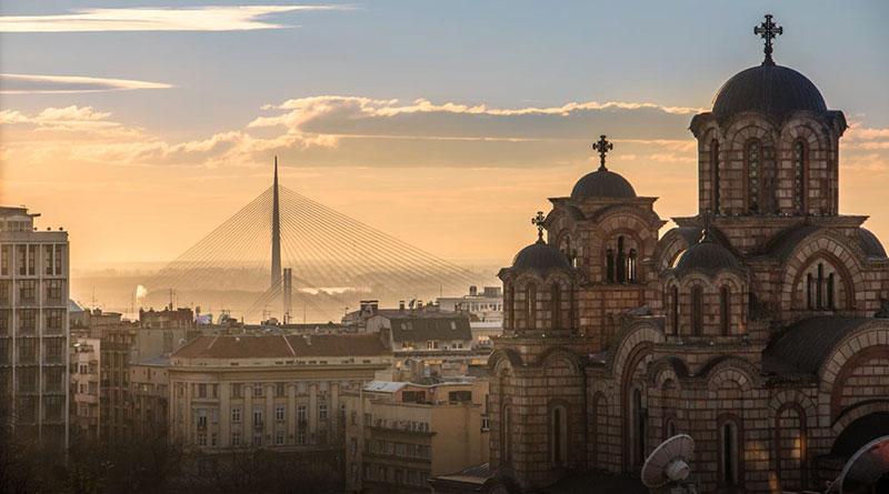 Crkva-Svetog-Marka-i-most-Beograd