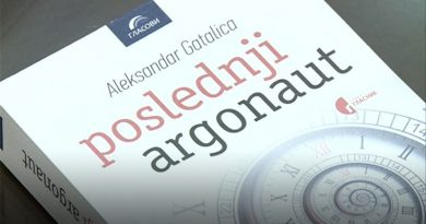 "Promocija knjige ""Poslednji argonaut"" Aleksandra Gatalice"