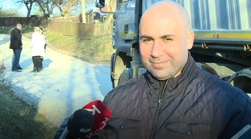 Andrija Živković, predsednik opštine Lajkovac