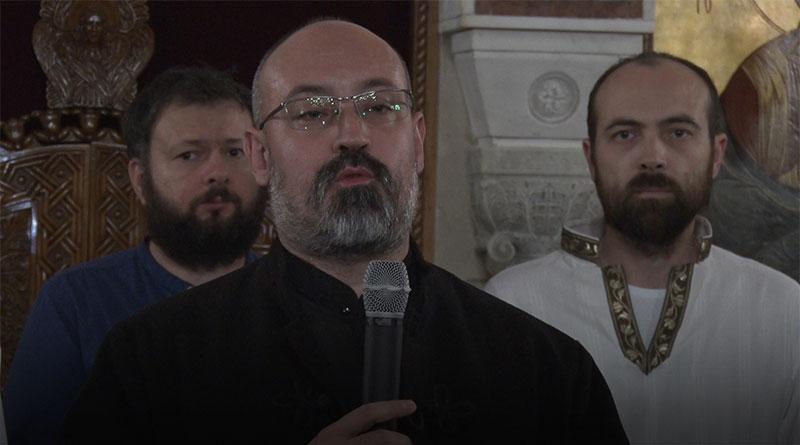 Otac Marko Mitić, strarešina Hrama