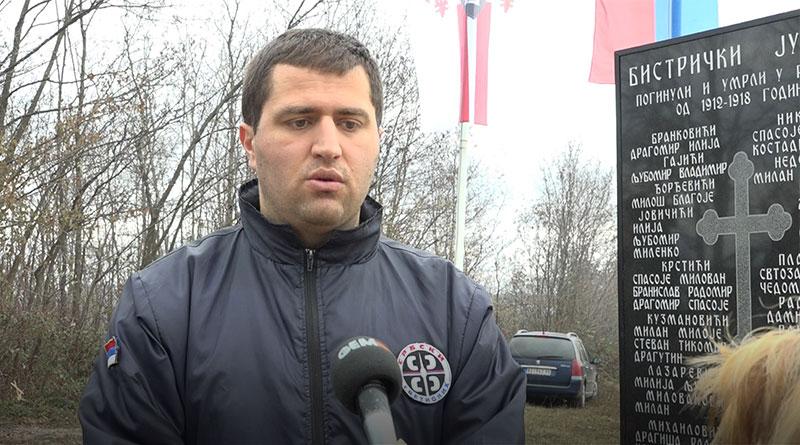 "Milan Čučković, predsednik udruženja građana ""Srpski svetionik"""