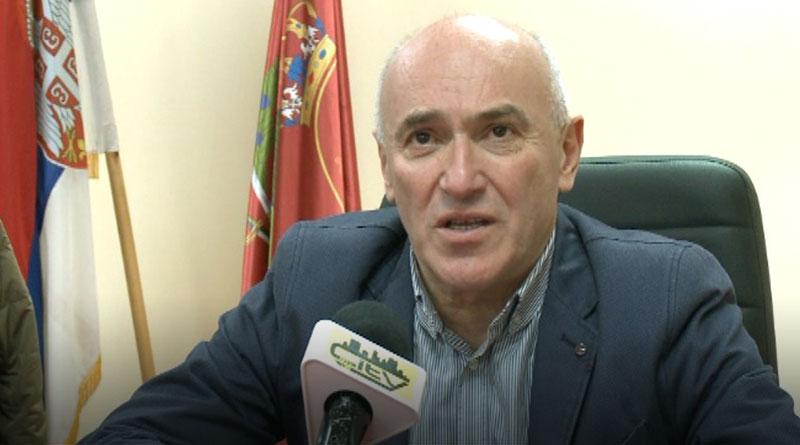 Dragan Aleksić, predsednik opštine Osečina