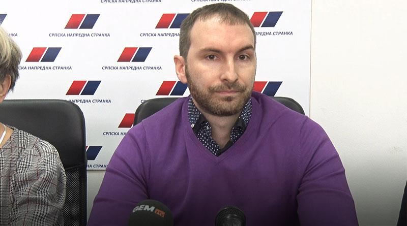 Bojan Lukić, potpredsednik OO SNS Lajkovac