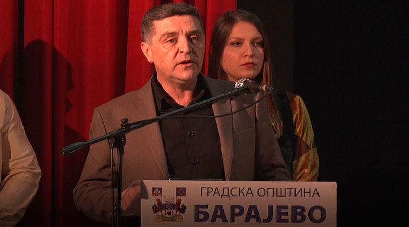 Slobodan Bata Adamović, predsednik GO Barajevo