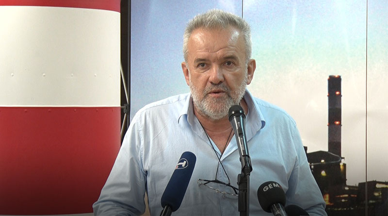 Milan Đorđević, sindikat JP EPS