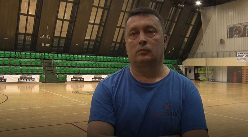 Saša Žujović trener Futsal kluba Kolubara.