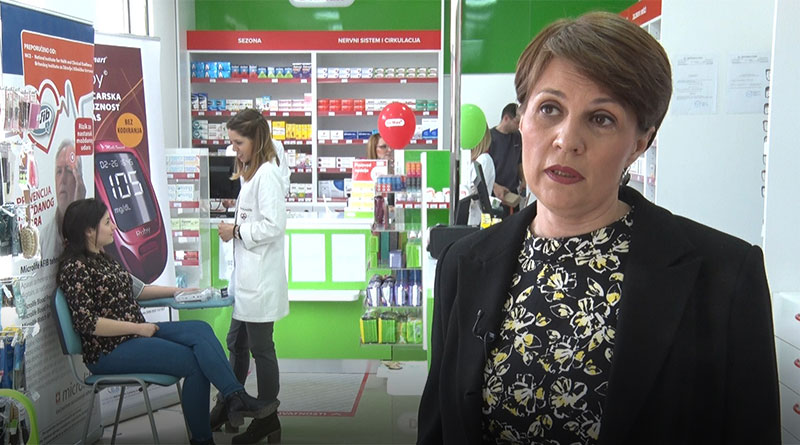 """Vesna Vujošević, direktor Zdravstvene ustanove apoteka """"Viva"""" Obrenovac"""