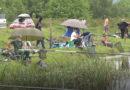 """Sportsko ribolovačko društvo """"Maj"""" organizovalo na jezeru u Mirosaljcima takmičenje u pecanju na plovak"""