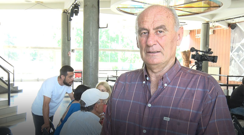 Dušan Paunović, predsednik Crvenog krsta u Lazarevcu