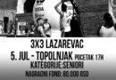 "Turnir ""3×3"" u naselju Topolnjak 5.jula"