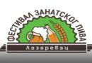 Prvi Festival zanatskog piva 31. avgusta na platou ispred Rudarske česme