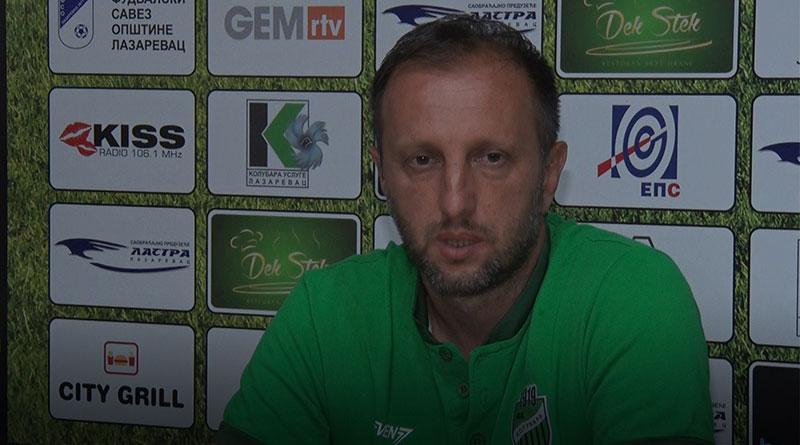Slađan Nikolić, trener FK Kolubara