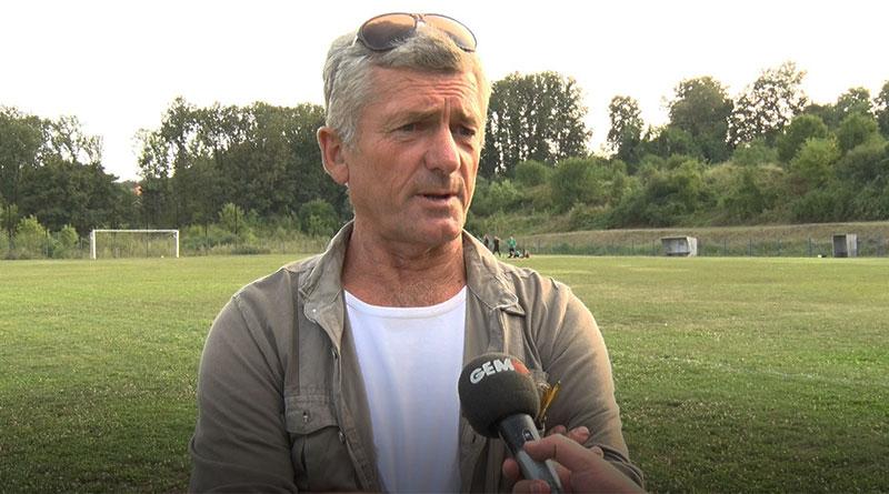 "Dragan Đuketić, predsednik FK ""Dimitrije Tucovića"""