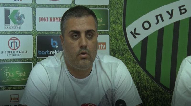 Dragiša Urošević. sportski direktor FK Kolubara