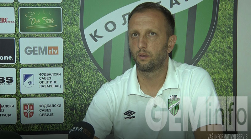 Slađan Nikolić, FK Kolubara