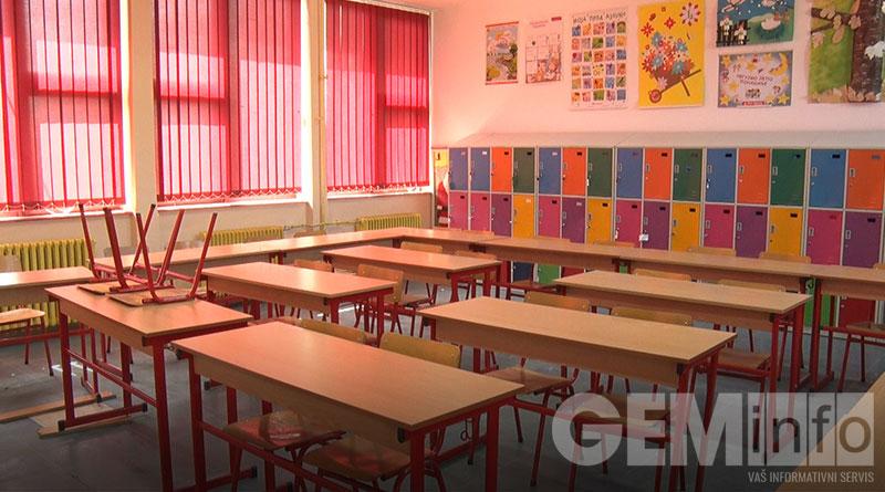 učionice u Vokinoj školi