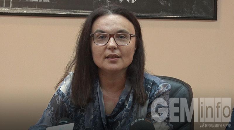 Jasmina Ivanković, direktorka biblioteke 'Dimitrije Tucović''