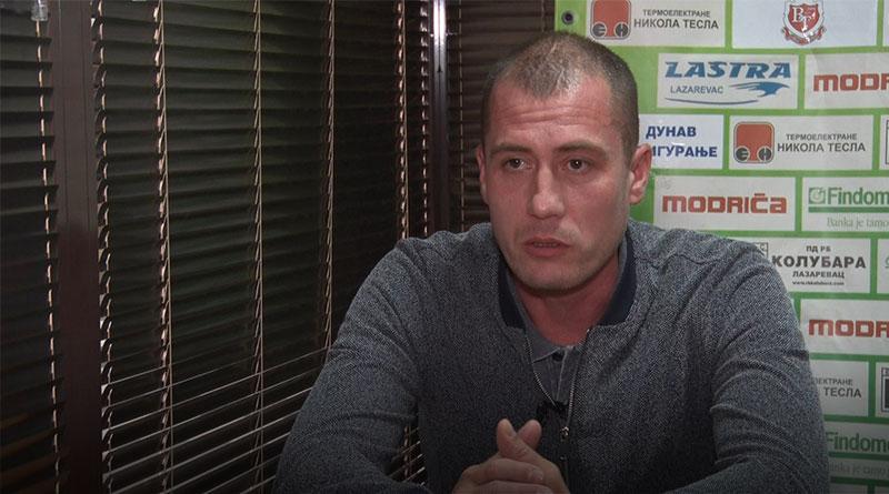 Marko Ranković, predsednik Fudbalskog saveza Lazarevca