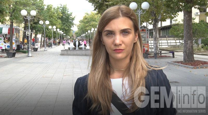 """Sanja Lazić, inicijator projekta """"Naše mesto"""""""