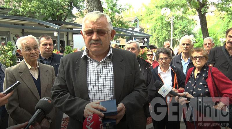 Bora Ercegovac, predsednik gradskog odbora SUBNOR-a Beograda