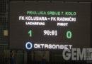 Treća pobeda fudbalera Kolubare