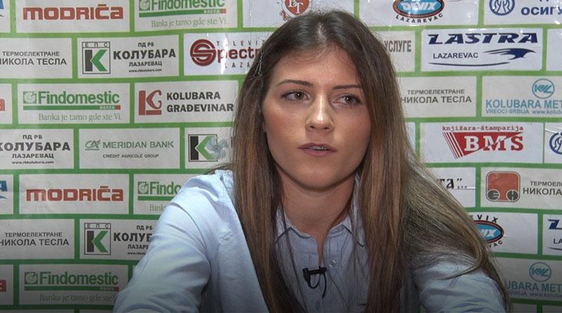 Marija Armuš, kapiten reprezentacije Srbije