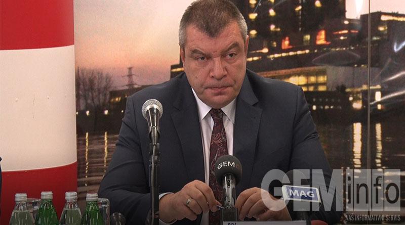 Milorad Grčić, v. d. direktora EPS